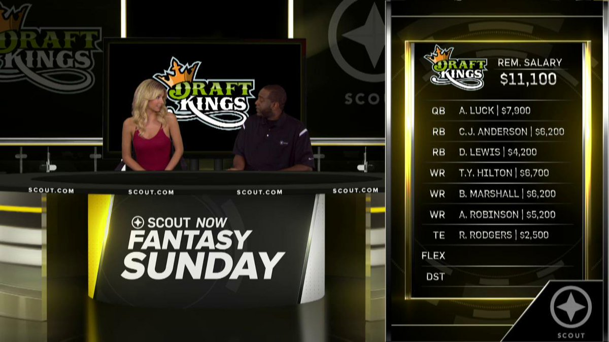 Watch: It's time to build that million dollar #fantasyfootball lineup! #ScoutArmy @DraftKings http://t.co/lNRjthka1y http://t.co/M7HwrjASVM