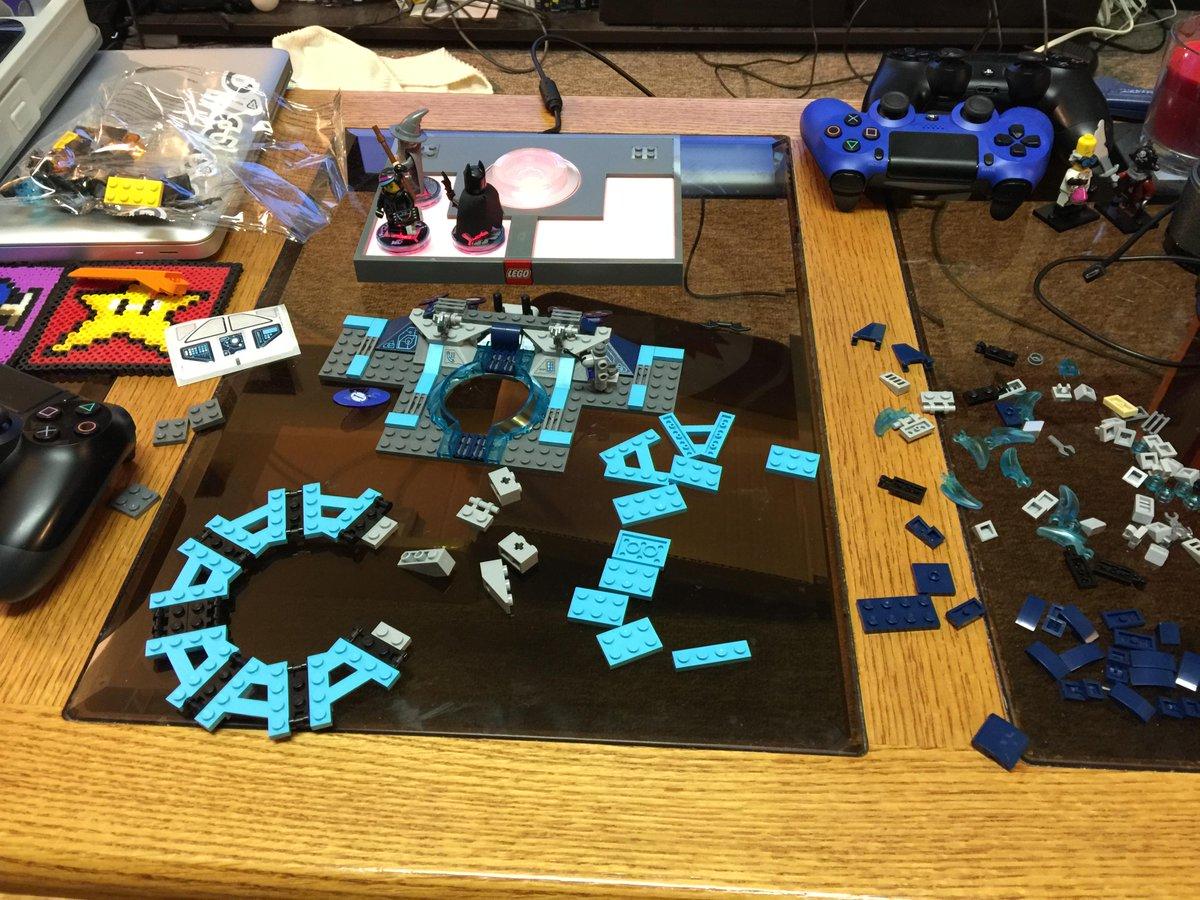 Slowly taking shape! #LEGODimensions #BreakTheRules http://t.co/wUJUaInEem