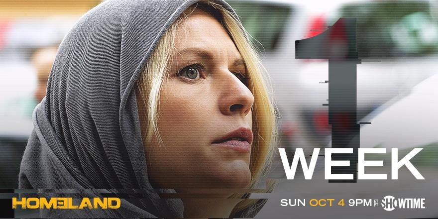 Time to get your security clearance. 1 week until #Homeland is BACK! http://t.co/QtiWCd9auS