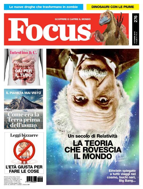 Avete già letto l'ultimo numero di Focus? Come vi è sembrato? http://t.co/nTAzN1Jtk2
