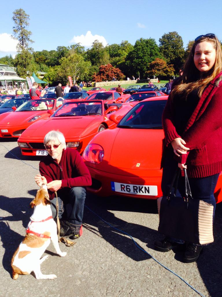 Brilliant day at Beaulieu National motor museum helping hubby celebrate his birthday with @FerrariOwnersGB http://t.co/GjtZ4e4V3y