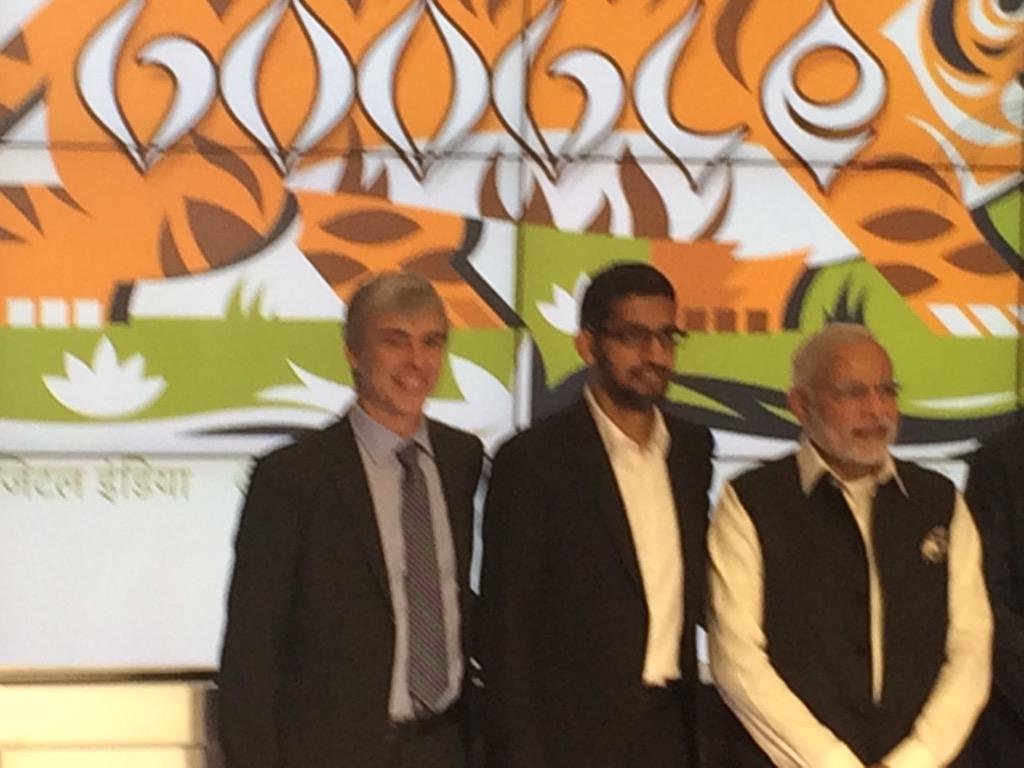 Photo op @google for #ModiInUSA meet w @sundarpichai @the_hindu http://t.co/noa3GgDjvH