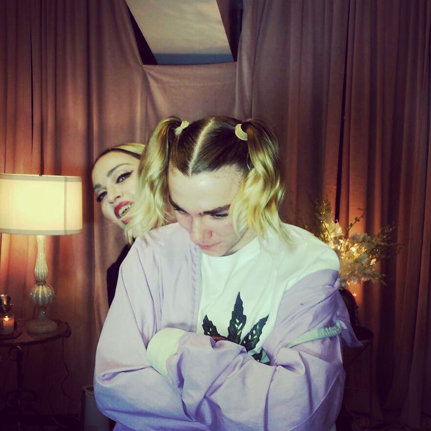 Blonde Ambition! ????. ❤️ #rebelhearttour http://t.co/Rq6hudMRkV