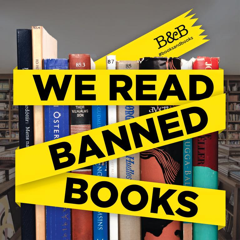 Banned Books Week starts now! RT the pic to join us in the support for literary freedom. #bannedbooksweek http://t.co/kY3mb1Pg6U
