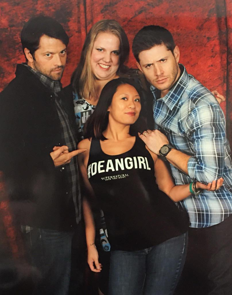 @JensenAckles Thank you for making my friend's day by officially making her Dean's Busty Asian Beauty. #NJCon http://t.co/mEqZbe3FfB