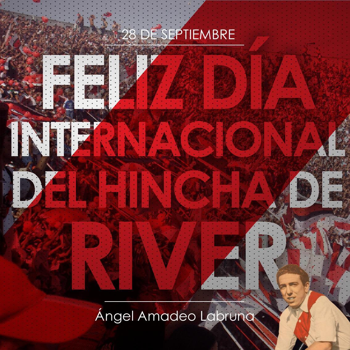 ¡Feliz #DíaInternacionalDelHinchaDeRiver! http://t.co/ESMG4olkbx