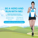 RT @justmeAnzhe: #HeroesForChildrenRun Register now: http://t.co/8k04N5eynd or at any Chris Sports branches! @annecurtissmith http://t.co/P…