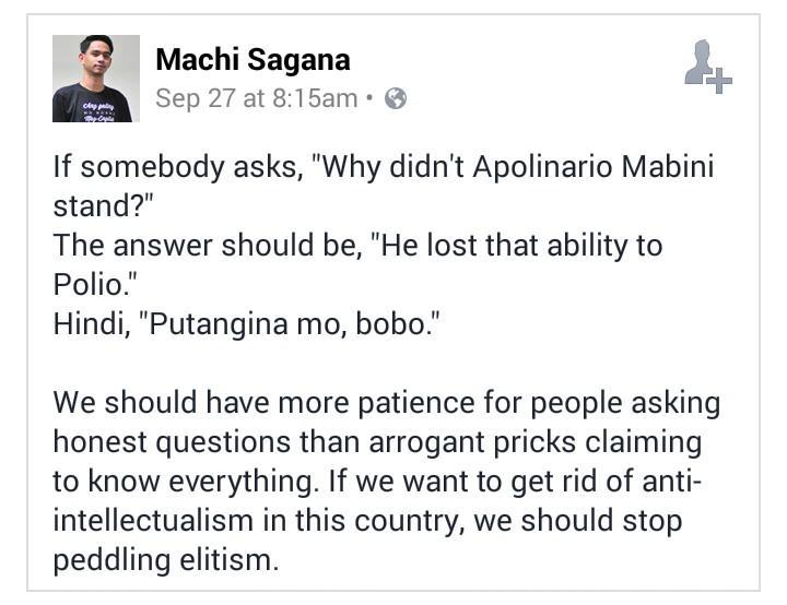 "If somebody asks, ""Why didn't Mabini stand?"", the answer should be: http://t.co/IdlwZAMN3H"