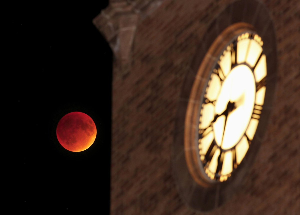 #SuperBloodMoon #CyclONEvision by university photographer @CEGannon • https://t.co/y5je9I4hlb #IowaState #campanile http://t.co/aeI0gAavYa