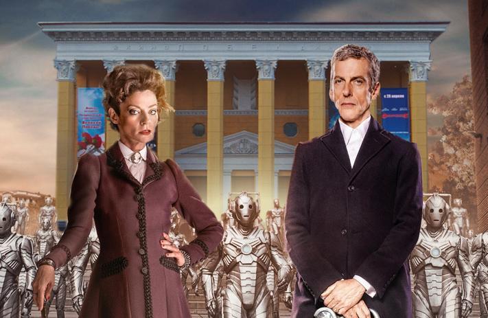Доктор Кто еще здесь! Последний день - и улетает. http://t.co/kEOJbdFnQs http://t.co/BUR4XPl3sI