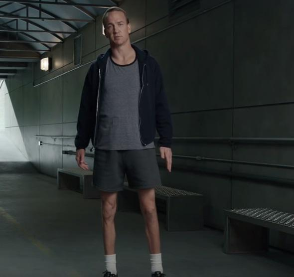 Skinny legs peyton manning @directv commercial - scoopnest.com