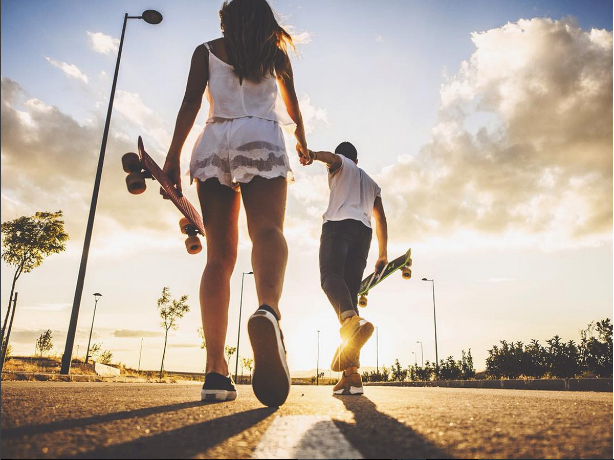 ULTIMATE SKATE DATE, via @alaccou #pennyskateboards #goals http://t.co/SbhDF1hxt7