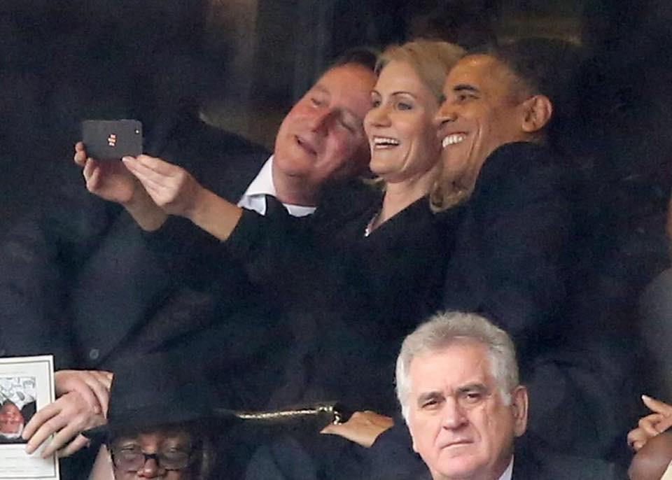 The common practice of respectful silence during the anthem is worse than selfies at Mandela's funeral. Much worse. http://t.co/LAxcraTLBV