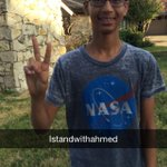 RT @IStandWithAhmed: Thank you fellow supporters. We can ban together to stop this racial inequality and prevent this from happening again …