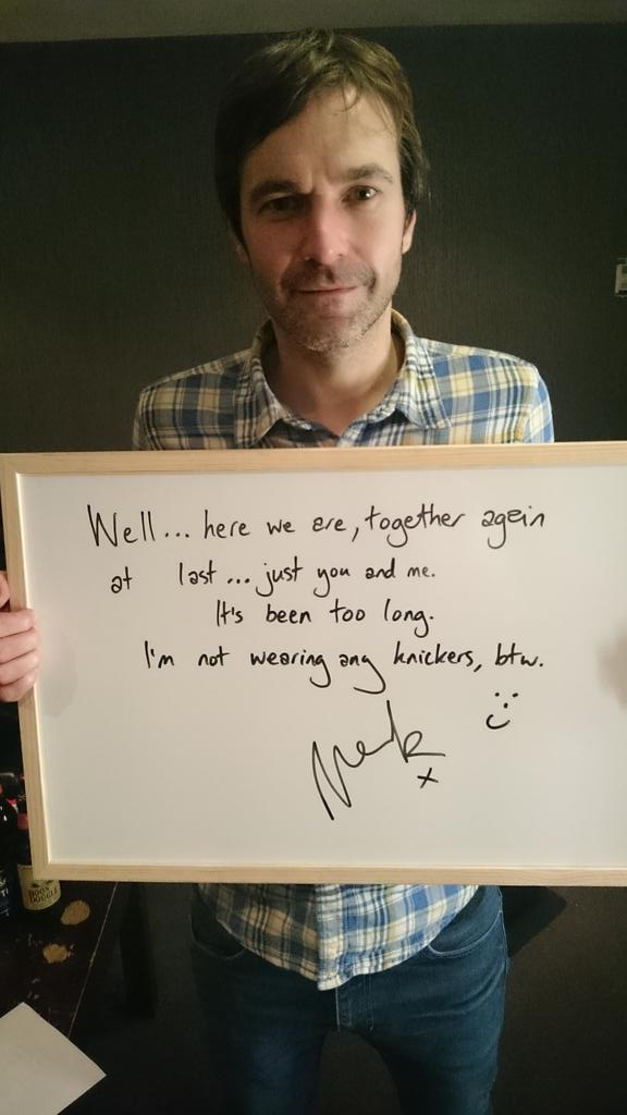 Here's a little message from Mark... http://t.co/bSWKFDhrQz
