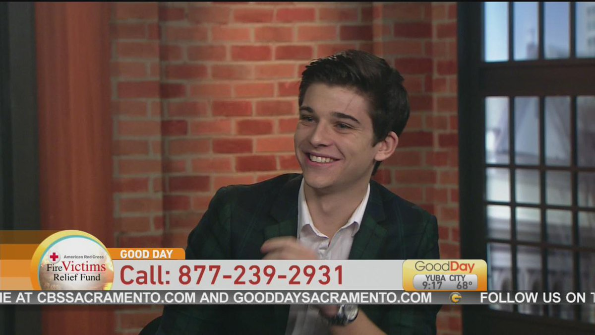 Actor Sean O'Donnell, who is filming a movie in El Dorado Hills, will be helping on the phones! Call 877-239-2931 http://t.co/m6FEo9agK3
