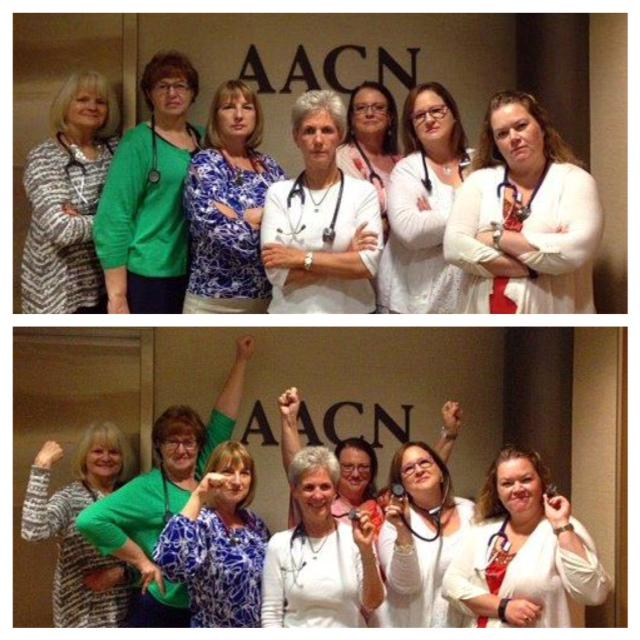 "There's no such thing as ""just a nurse."" Post your photos & tag @AACNme  #NursesShareYourStethoscopes #AACN http://t.co/UUamV4wTyF"