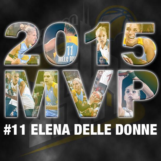 Congratulations @De11eDonne on being named the 2015 @WNBA MVP! #FOROURTOWN http://t.co/CC8PvQwvw5