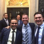 Met prime minister with some cricket legends.@virendersehwag @damienmartyn ,photo bomb from the head boy:)#straussy http://t.co/jllLgPlTmW