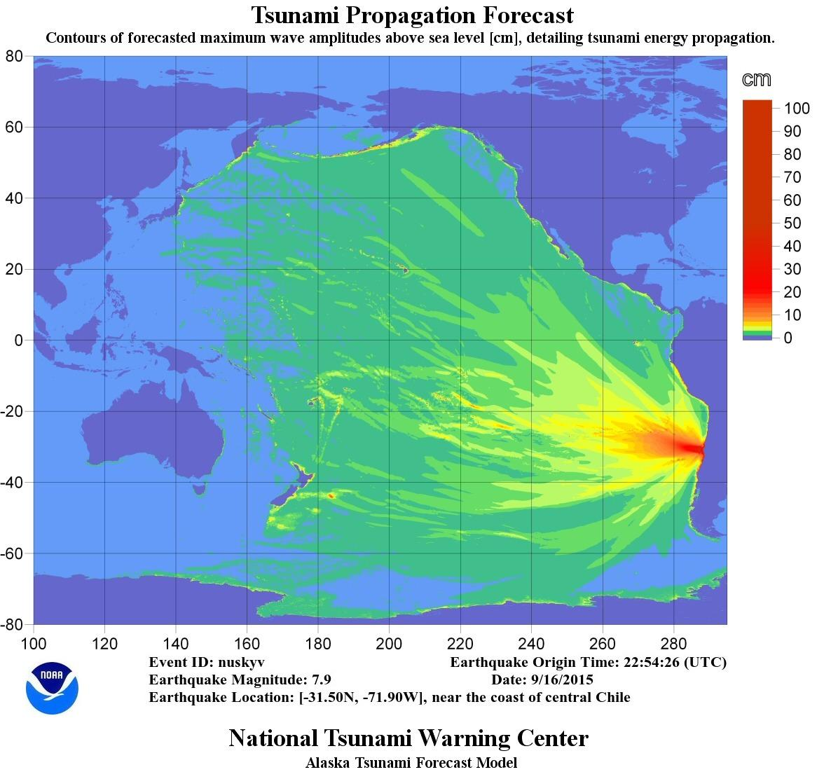 #Tsunami energy map shows lower potential threat to U.S. west coast than for Hawaii/central Pacific. #earthquake http://t.co/6loF6qj9GF