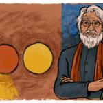 RT @sonaliranade: Google honors the artist that  India failed