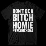 RT @sonnench: This is 100% @nickdiaz209 OFFICIAL shirt. Are you CORPORATE or are you one of the BOYZ... http://t.co/3rAE4pZvok