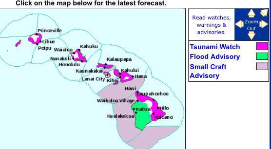 *IF* a tsunami is generated, arrival time for #Hawaii is 3:06 AM local time tomorrow, 6:06 AM Pacific. @NBCLA http://t.co/I5eGkdQkSJ