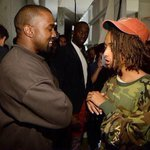 Kanye: So I was in the 5th dimension yesterday... Jaden: Keep your voice down Ye, that mortal over theres listening http://t.co/zXc5iQj46g