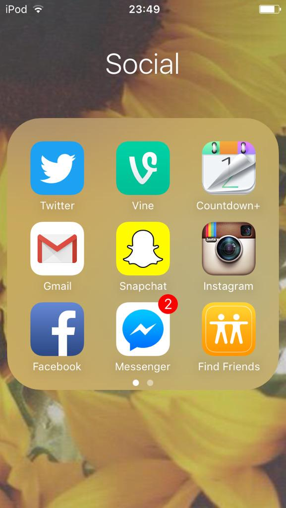 Thanks #iOS9 friends is all I ever wanted xx http://t.co/n1QlNAOL2l