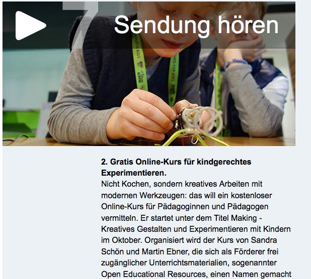 [imoox] Der Online-Kurs zum Making mit Kindern im Radio! #orf #making #digitalleben#imoox http://t.co/LWeppahRZ0 http://t.co/eGzgcmswmA
