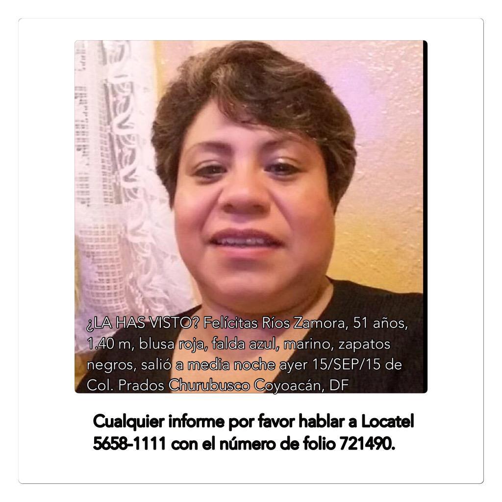 ¿Un RT por favor? La familia de Doña Felícitas la busca. Si la has visto por favor avisa. Ayudemos a localizarla. http://t.co/CGIuLKJpg3