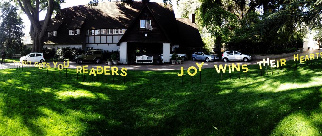 Ah, the joy. With @JohnnieWalkerSA #WalkWithJoy #JohnnieWalker http://t.co/avbi42bcrR