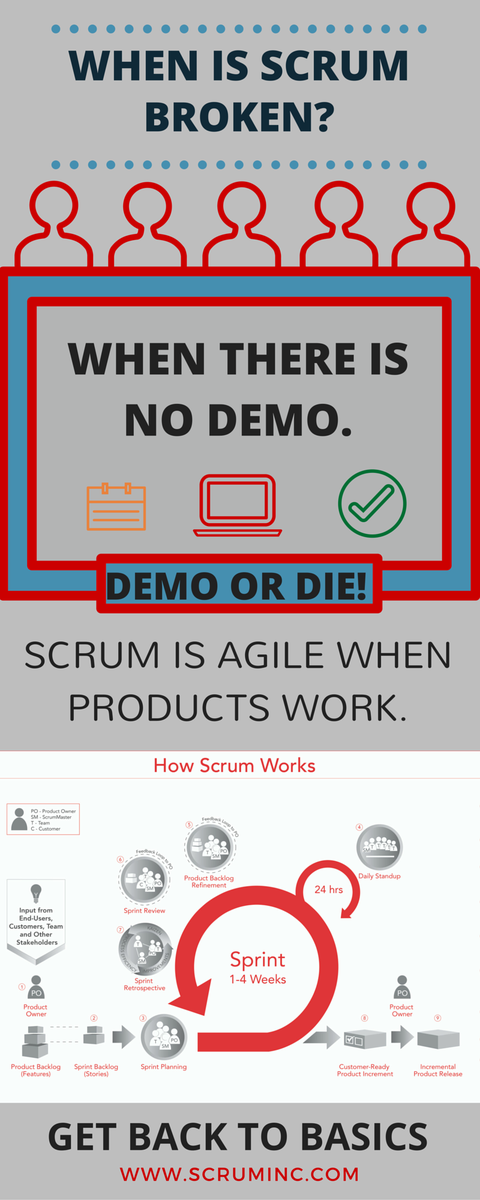 Agile Value #1: Working product over documentation.  WORKING product = feedback. Demo or Die! #Scrum #backtobasics http://t.co/DiOKArsXkT