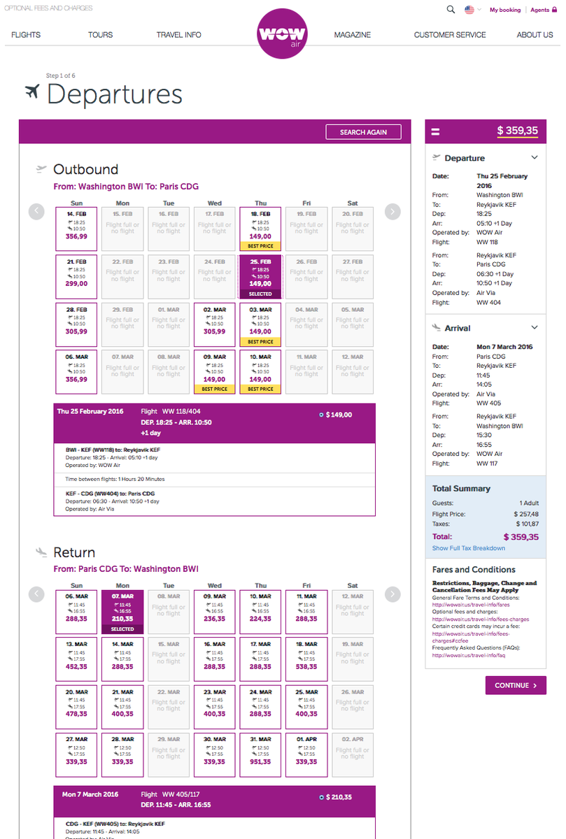 RT @airfarewatchdog: Baltimore BWI to Paris CDG $360 round-trip on @wow_air for fall/winter travel