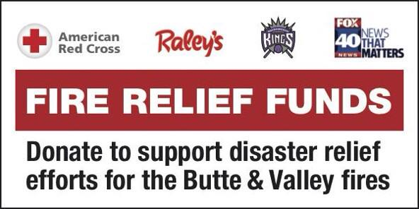 Your spare change at checkout can help #ValleyFire #ButteFire relief efforts! @RCSierraDelta @Fox40 @SacramentoKings http://t.co/dWxBp3UV4l