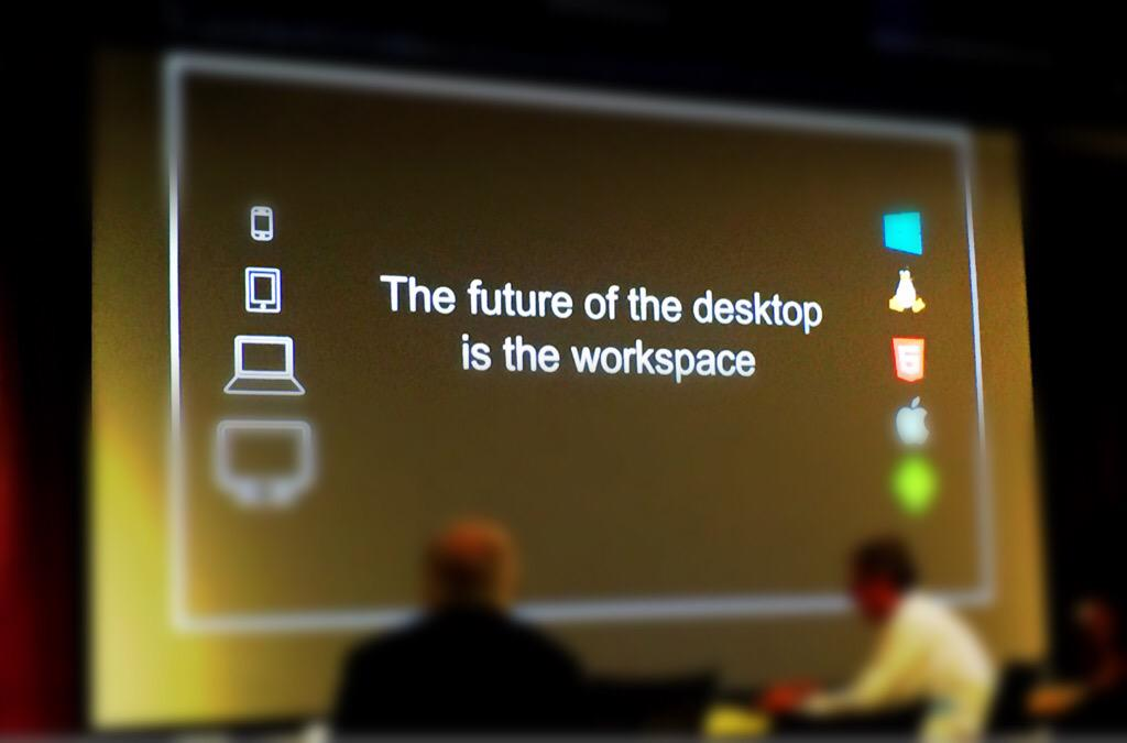 """""""The desktop is dead. The future of the desktop is the workspace."""" -- @CitrixCEO on things to come at #CitrixIA http://t.co/cB8Jz3XvIL"""