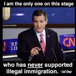 MT @SMolloyDVM: Cruz - only candidate on the RIGHT side of all the issues. http://t.co/kC0i1uaOtr #CruzCrew #PJNET