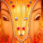 RT @bhaavgandhi: Look into my eyes, peep into my soul! #Ganeshotsav #GanpatiBappaMorya