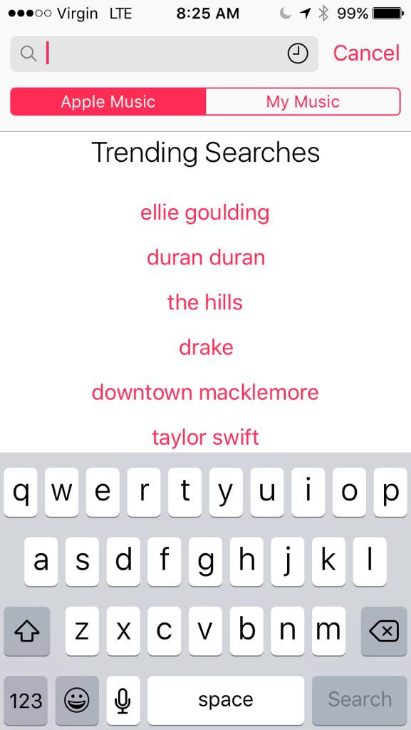Good Morning @duranduran guess who is trending on @AppleMusic