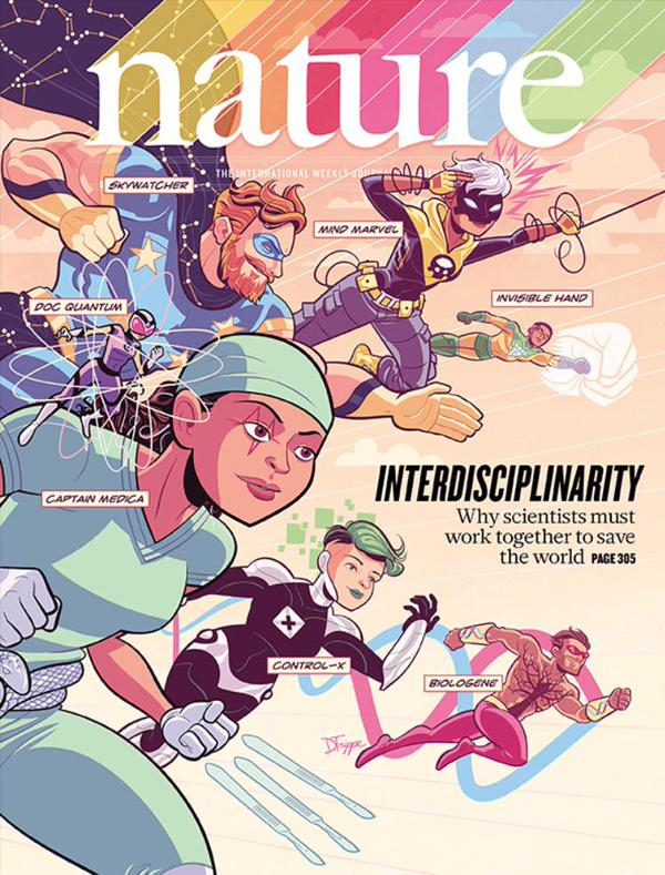 No os perdáis la portada de Nature: la única forma de avanzar es trabajar juntos. http://t.co/SqP6YhDiem http://t.co/ZkkCH3gbHX