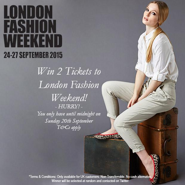 Win 2 x Tickets to #LFWEnd! To enter simply follow us on Twitter and Retweet this #competition #giveaway http://t.co/xnP8kyNomk