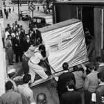 RT @Raspberry_Pi: A 5MB hard drive delivery in 1956.   I'm typing this on a machine that uses a 64GB SD card which cost me about £20. http:…