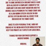 RT @Actor_Krishna: