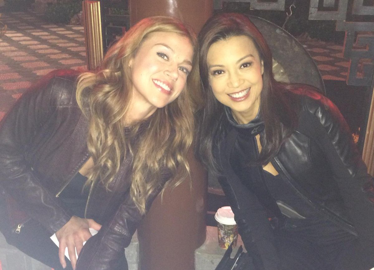 Our @AgentsofSHIELD  Beauties @MingNa & @AdriannePalicki #SeasonTwo