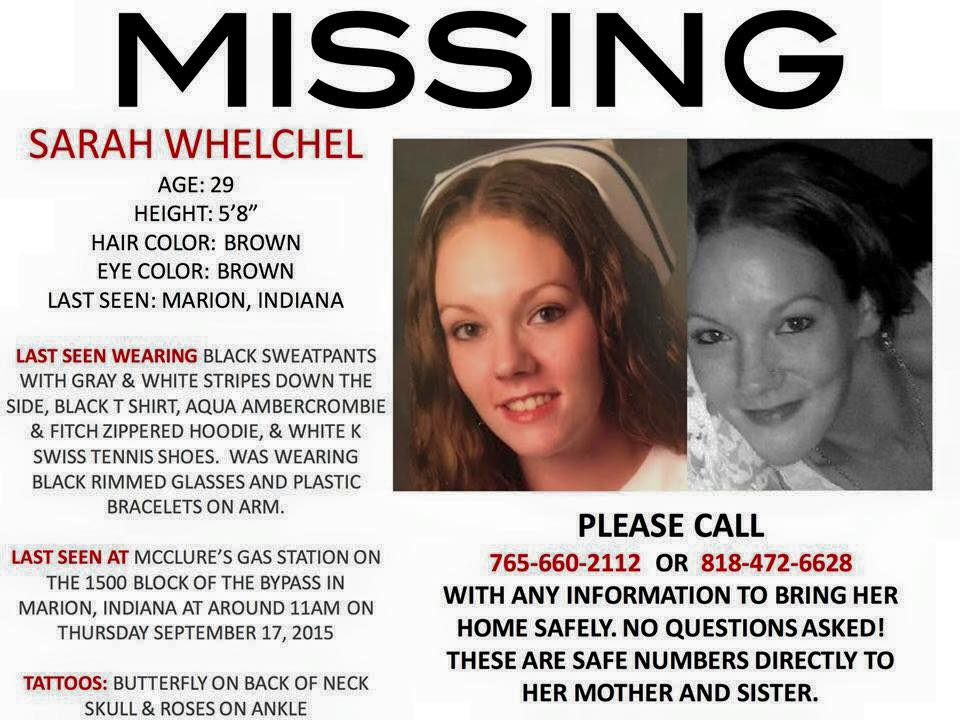 Anyone in #Indiana or elsewhere, my friend Amanda's sister is #missing. Please help bring her home! PLEASE RT!!! #RT http://t.co/uMhGoMzz03