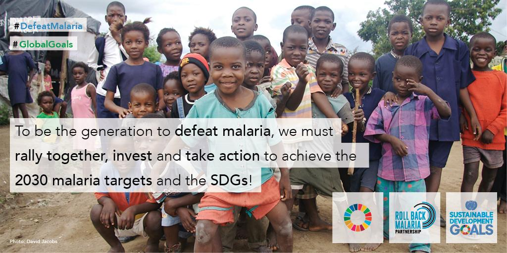 We can be the generation to #DefeatMalaria & attain the #GlobalGoals! http://t.co/Vt1FUW1O7B http://t.co/yjgpUqPsG5