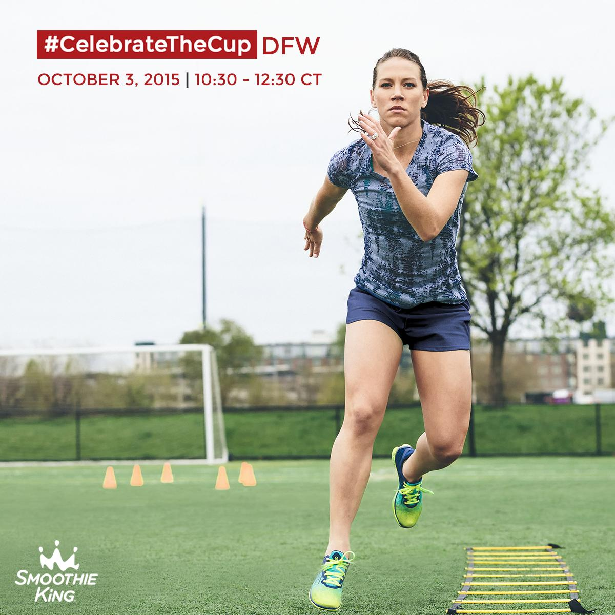 #Dallas, meet @LaurenHoliday12 at the free Smoothie King #CelebrateTheCup Tour! RSVP: https://t.co/MDUX0Qzn6f http://t.co/Lzkg4S1chF