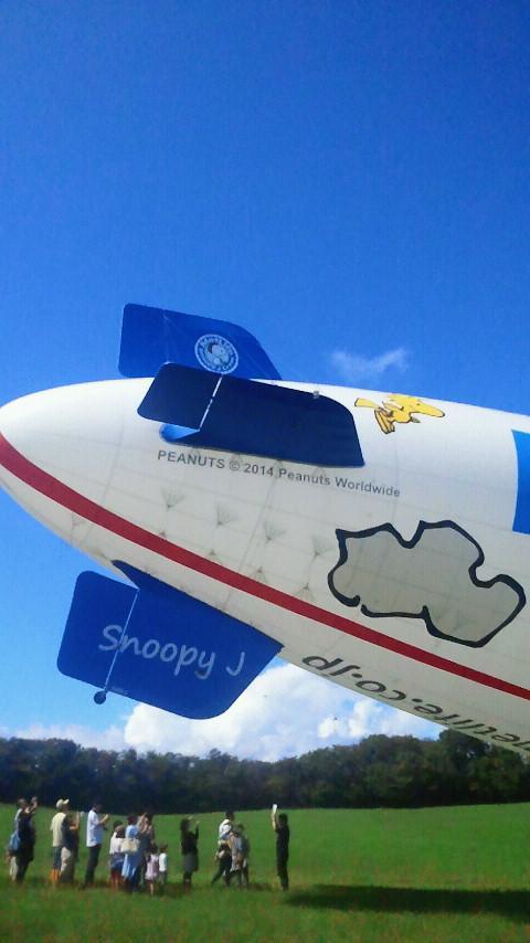 【スヌーピーJ号】尾翼にはフライングエースが #SNOOPY_J