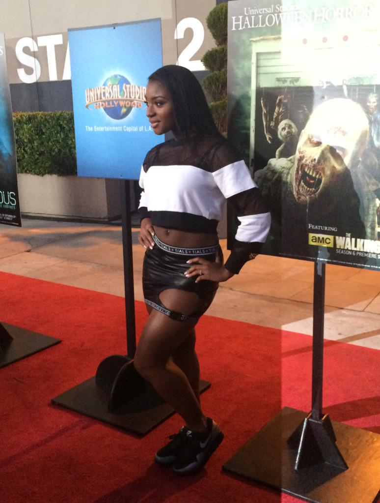 Can't wait to see if @NormaniKordei's scream is as good as her singing! #UniversalHHN http://t.co/exOMUFAA4Z