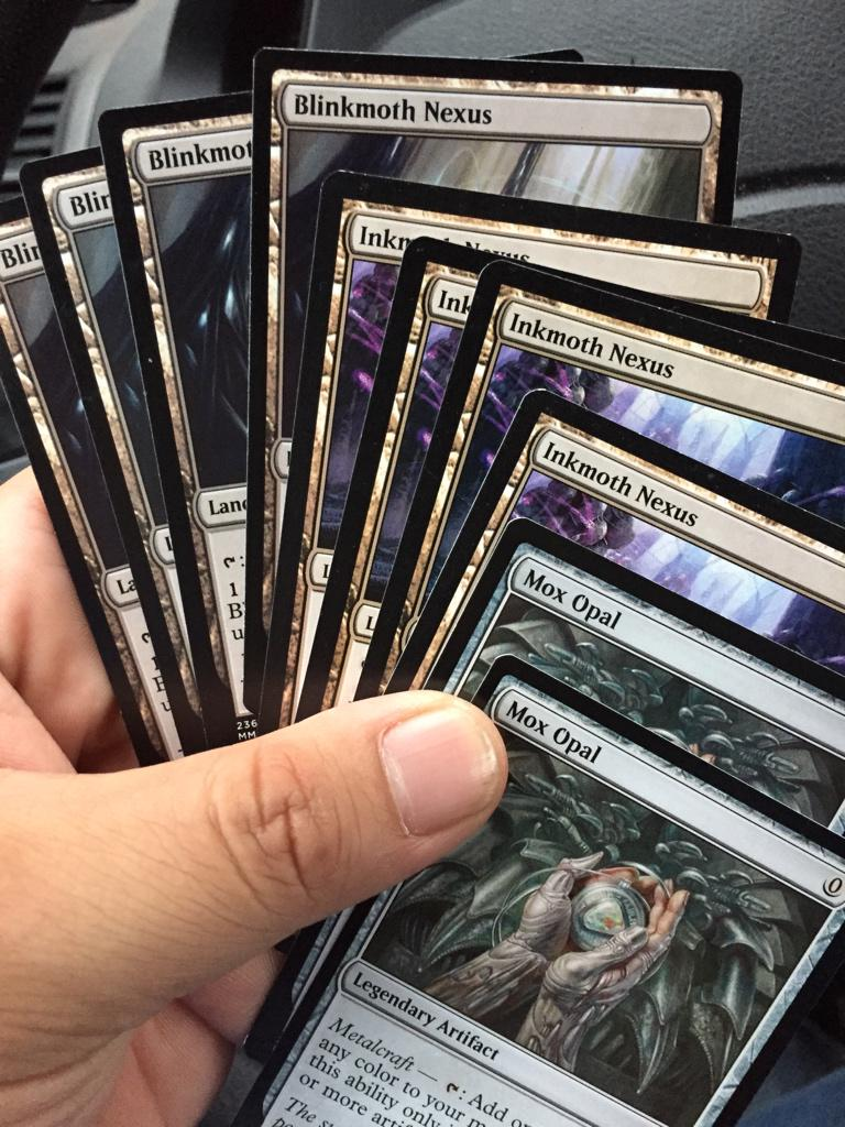 @TolarianCollege You've convinced me to get into modern. Almost collected! Just need four ravagers! http://t.co/znaoRHlxti